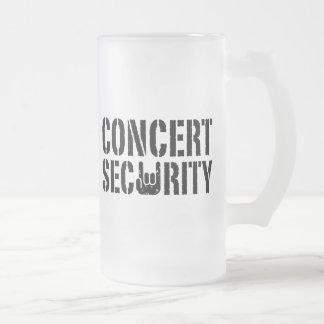 Concert Security Mugs