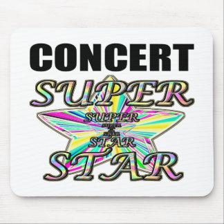 Concert Superstar Mouse Pad