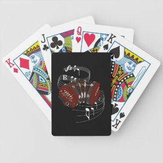 Concertina Bicycle Playing Cards