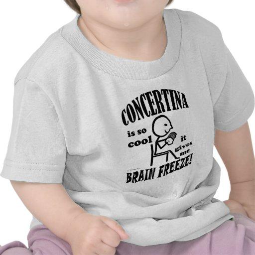 Concertina, Brain Freeze Tshirt