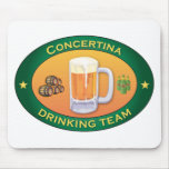 Concertina Drinking Team Mouse Pads
