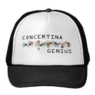 Concertina Genius Cap