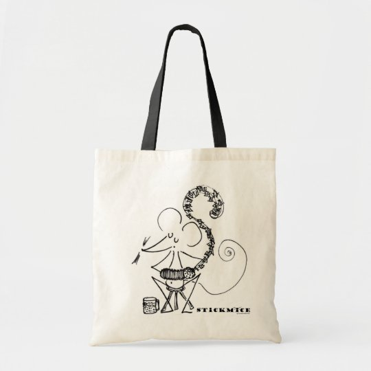 Concertina Mouse - Tote Bag