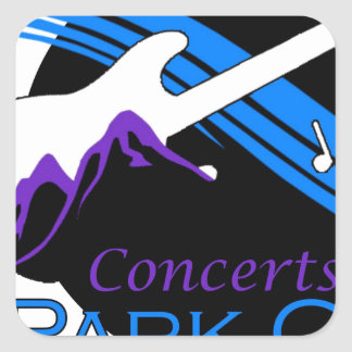 concerts at park city square sticker
