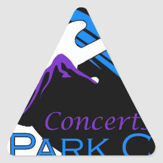 concerts at park city triangle sticker