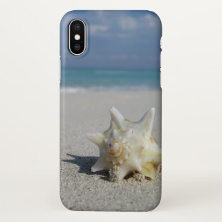 Conch on the Beach: Varadero, Cuba - iPhone X Case