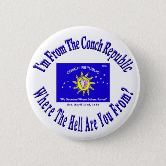 Conch Republic 2 copy.jpg 6 Cm Round Badge