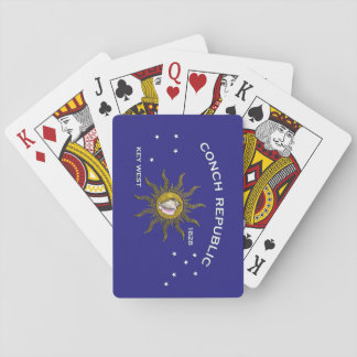 Conch Republic Key West Playing Cards