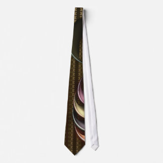 Conch Shell Abstract Art Tie
