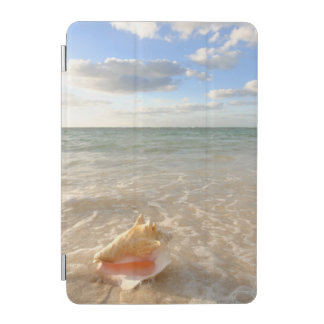 Conch Shell In Sand On Tropical Beach iPad Mini Cover