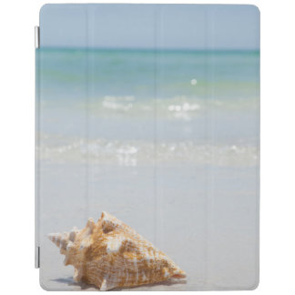 Conch Shell On Beach | Florida, St. Petersburg iPad Cover