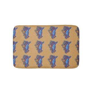 Conch Shell Pattern Bath Mat