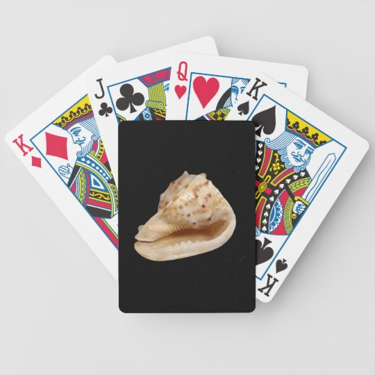 Conch Shell Poker Playing Cards