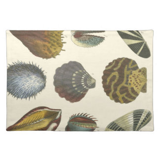 Conchology Collection Placemat