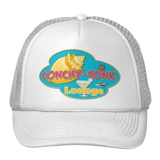 Conchy-Tonk Lounge Hats