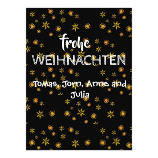 Conciliation Christmas card Frohe Wiihnachten