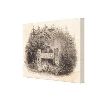 Concomely's Tomb, Astoria, Oregon Canvas Print