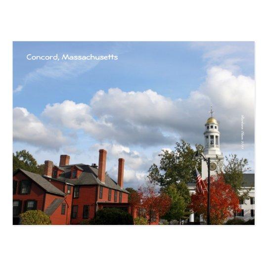 Concord Centre Postcard