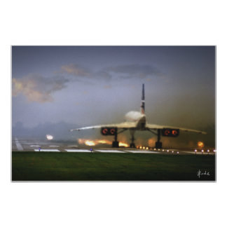 """""""Concorde Takeoff"""" Posters"""