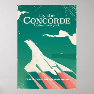 Concorde Vintage Vacation poster