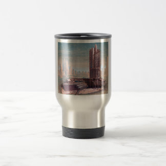 Concourse Singapore Stainless Steel Travel Mug
