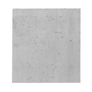 Concrete background notepads