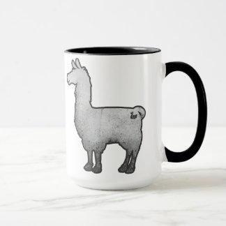 Concrete Llama Mug