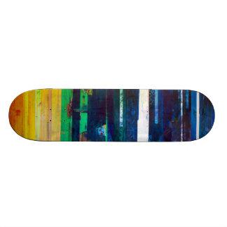 Concrete Poems Skate Deck