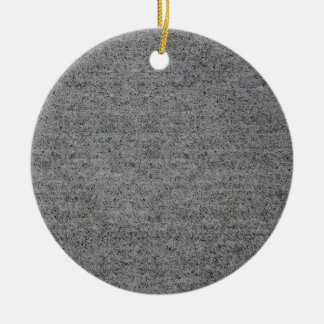 CONCRETE SLAB ~ CHRISTMAS ORNAMENT