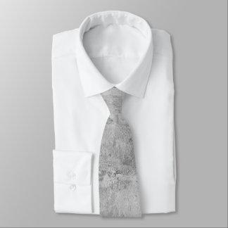 Concrete texture necktie