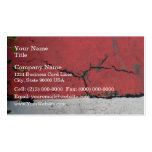 Concrete wall painted in alternating bars business card templates