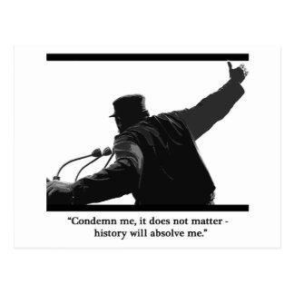 """Condemn Me"" Postcard"