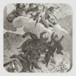 Condemnation of the Jesuits, 6th August 1762 Square Sticker
