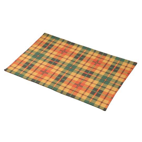 Condie clan Plaid Scottish kilt tartan Place Mats