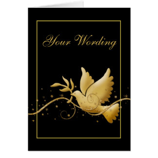 Condolence funeral bereavement card