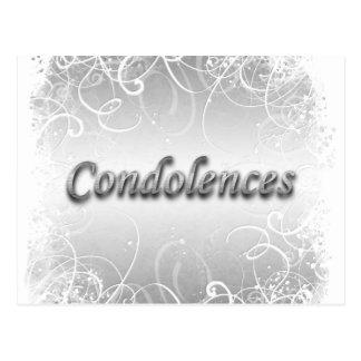 Condolence funeral bereavement postcard