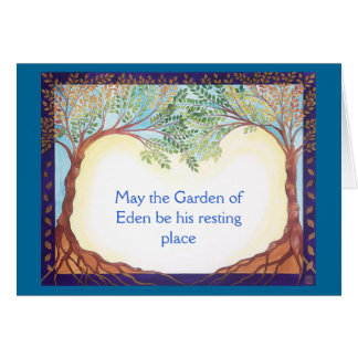 Condolence/Sympathy card for a man