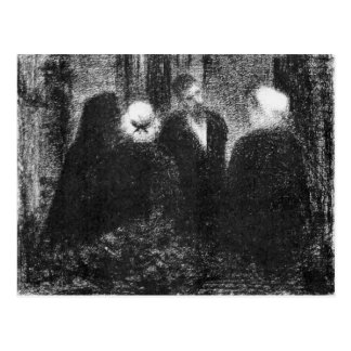 Condolences by Georges Seurat Postcard