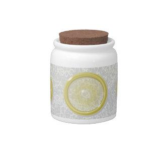 """Condom"" Jar Candy Jars"