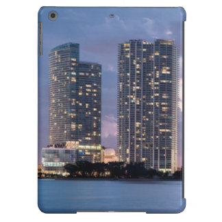 Condominium towers at the waterfront in Miami Cover For iPad Air