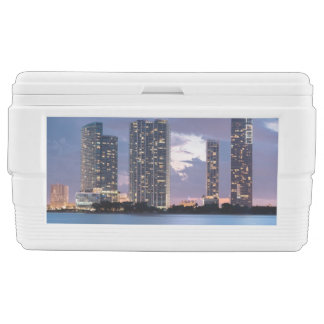 Condominium towers at the waterfront in Miami Ice Chest