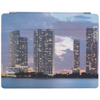 Condominium towers at the waterfront in Miami iPad Cover