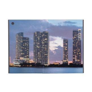 Condominium towers at the waterfront in Miami iPad Mini Case