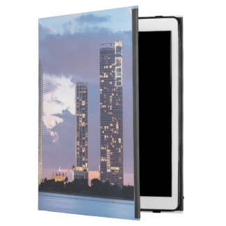 "Condominium towers at the waterfront in Miami iPad Pro 12.9"" Case"