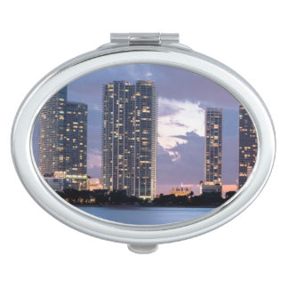 Condominium towers at the waterfront in Miami Vanity Mirrors