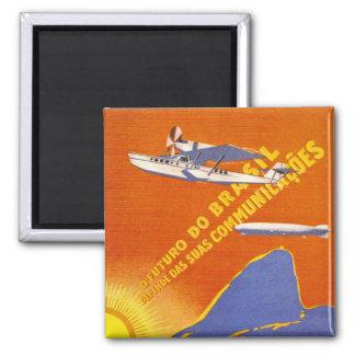 Condor ~ Brazillian Air Service Square Magnet