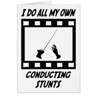 Conducting Stunts Card