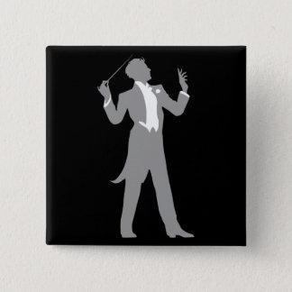 Conductor 15 Cm Square Badge