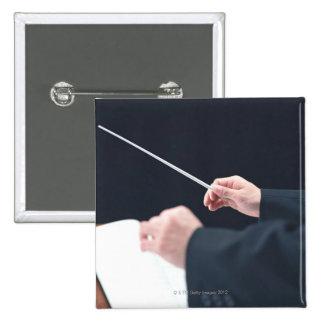 Conductor 2 15 cm square badge