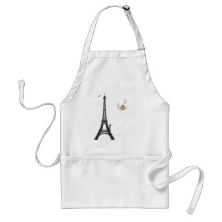 Conductor And Eiffel Tower Apron